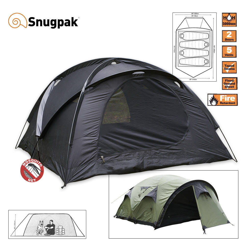 Snugpak The Cave 4 Mans Tält Tents